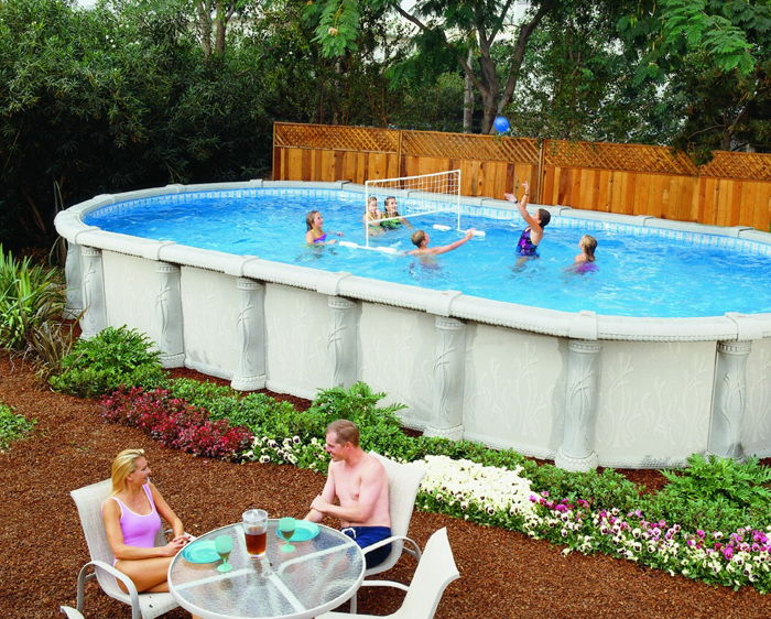 Above ground pools the affordable alternative for Cheap unconventional housing alternatives