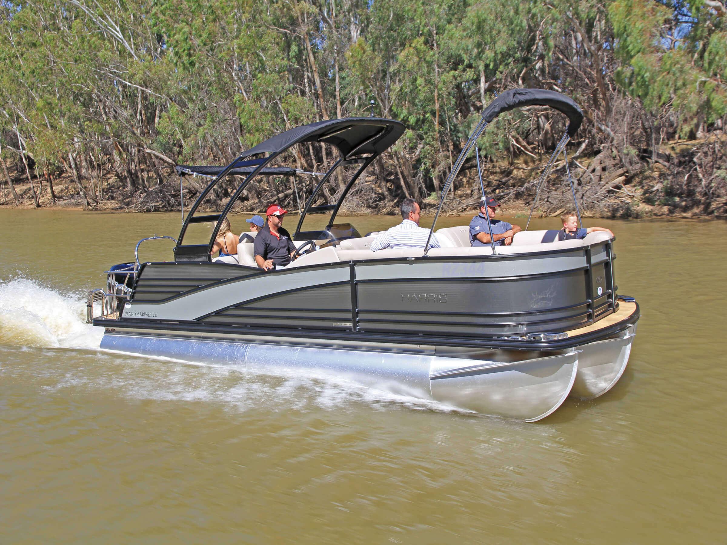 used pontoon boats Gold Coast