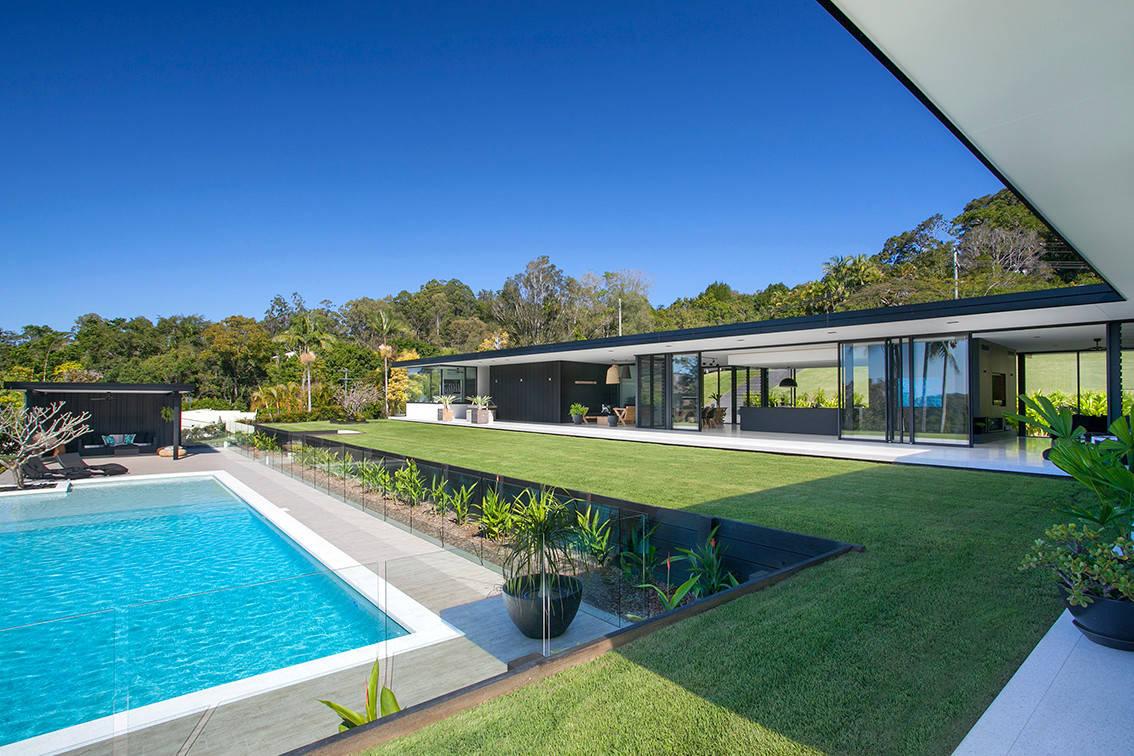 Concrete Water Tank Plunge Pool Sunshine Coast